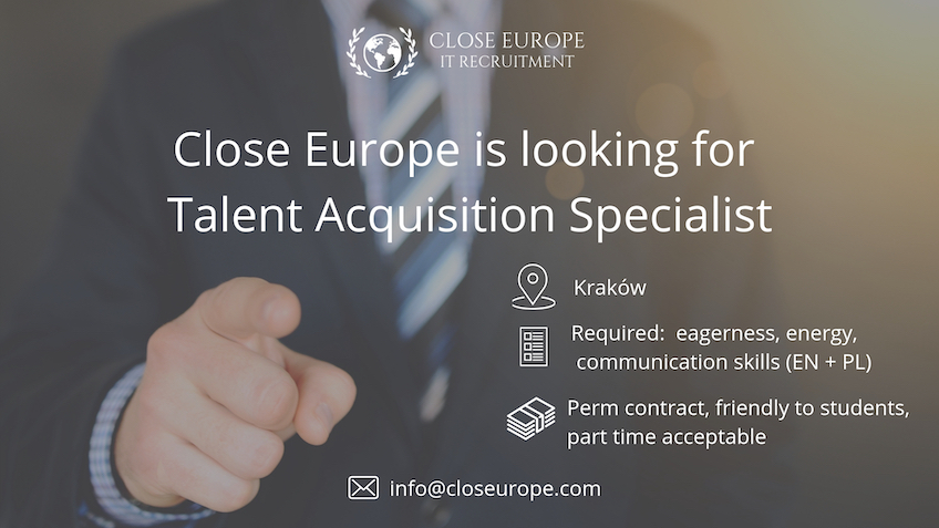 Talent Acquisition Specialist in Close Europe Recruitment